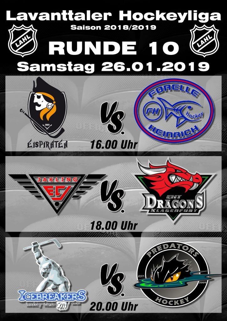 Vorschau RUNDE 10 LAHL 2018/2019
